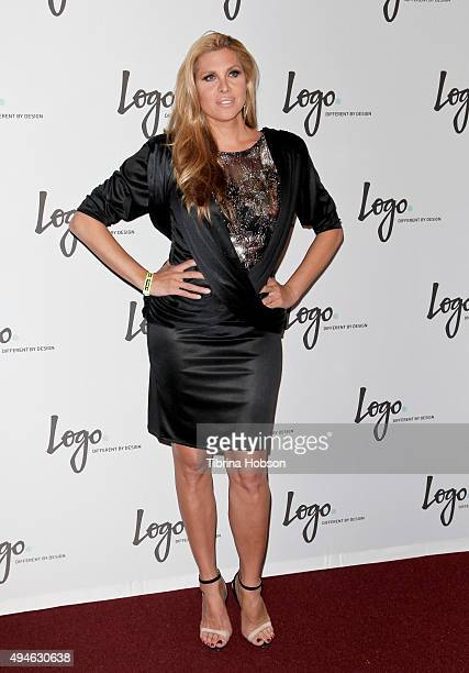 Candis Cayne attends Logo TV's 'Beautiful As I Want To Be' Web Series launch party at The Standard Hotel on October 27 2015 in Los Angeles California