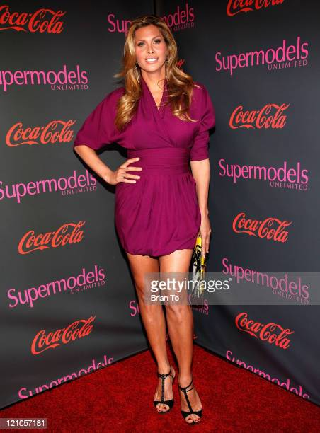 Candis Cayne attends SuperModels Unlimited Magazine PostGrammy Celebration at Avalon on January 31 2010 in Hollywood California