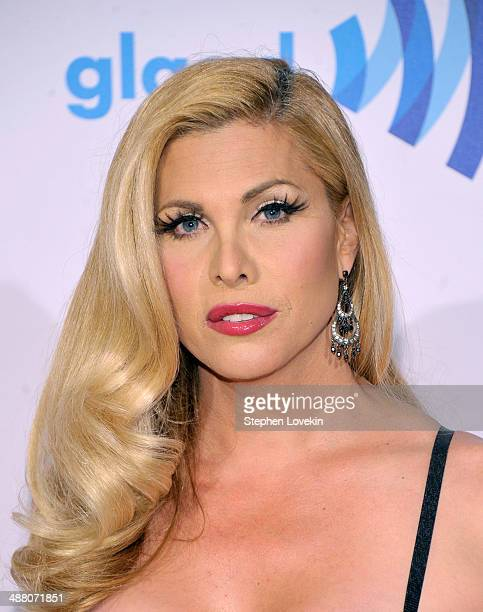 Candis Cayne attends the 25th Annual GLAAD Media Awards on May 3 2014 in New York City