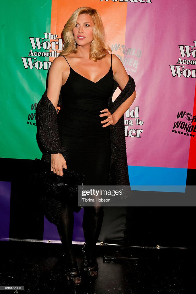 Candis Cayne attends the 'World Of Wonder' book release party at Universal Studios Backlot on December 13, 2012 in Universal City, California.