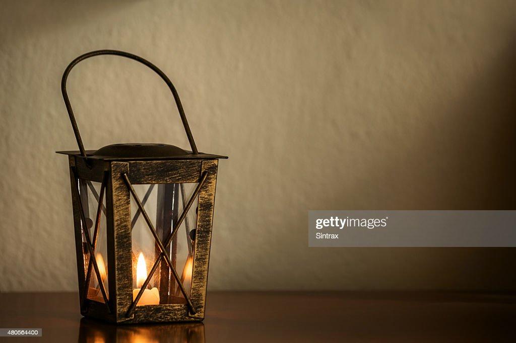 Candle lantern : Stock Photo