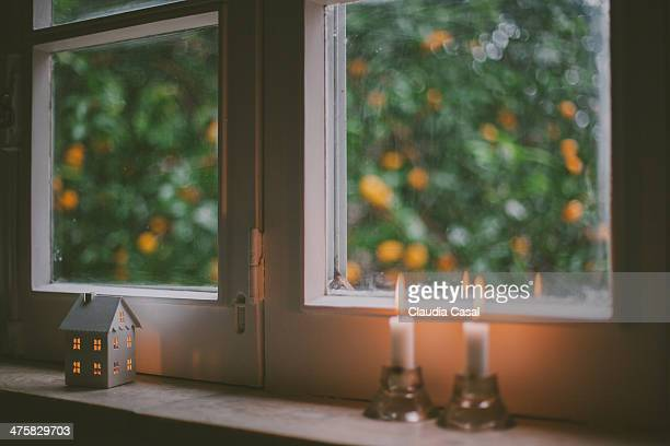 Candle Light by the Window