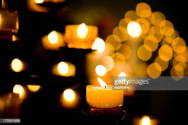 Kerze leuchten