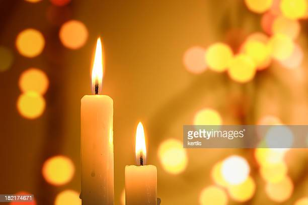 Candle (Christmas, new year, holiday)