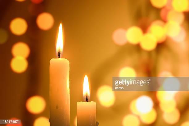 Kerze (Weihnachten, Silvester, Weihnachten)