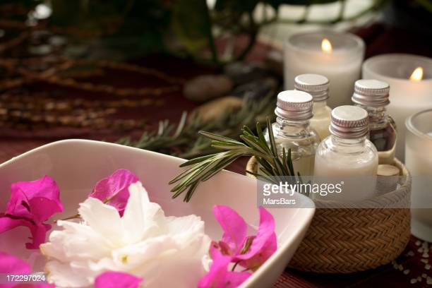 candle-lit spa session