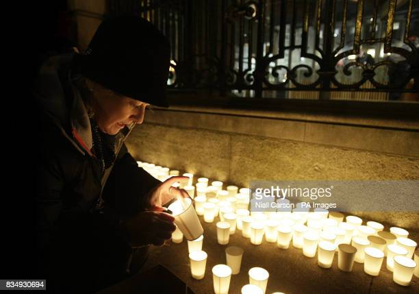 A candlelit vigil takes place outside Leinster House in Dublin tonight as part of the campaign to reverse cuts to the cervical cancer vaccine...