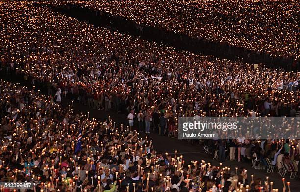 Candles Procession in Fatima Portugal