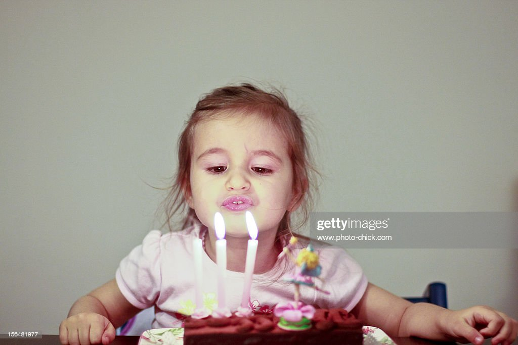 3 Candles This Time... : Stock Photo