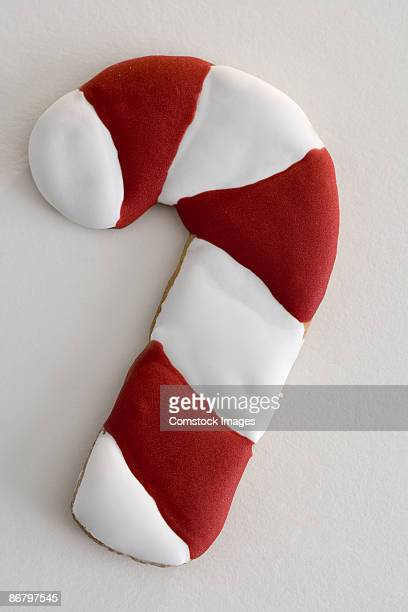 Candy cane christmas cookie