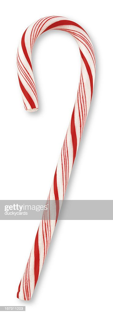 Candy Cane (with clipping path)