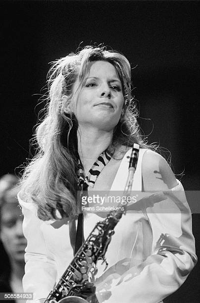 Candy Dulfer alto sax at the North Sea Jazz Festival in the Hague Netherlands on 11th July 1993