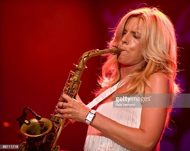 Candy Dulfer performs live at The North Sea Jazz Festival Ahoy Rotterdam in Holland on July 11 2009