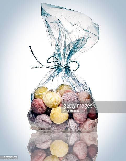 Candy in bag
