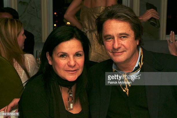 Candy Pratts Price and Chuck Price attend Vera Wang One Year Anniversary of ReadytoWear at Bergdorf Goodman at Bergdorf Goodman on December 7 2005 in...