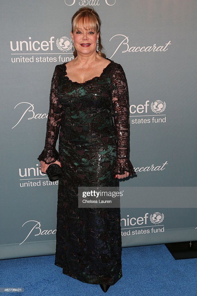 Candy Spelling arrives at the 2014 UNICEF Ball presented by Baccarat at Regent Beverly Wilshire Hotel on January 14, 2014 in Beverly Hills, California.