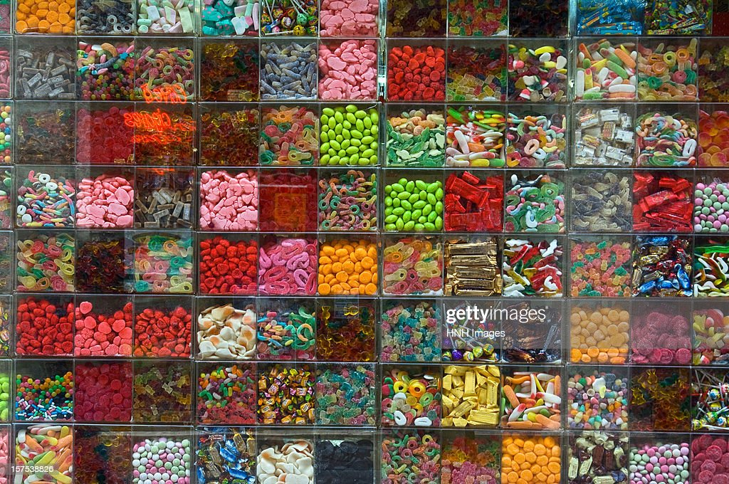 Candy store : Stock Photo