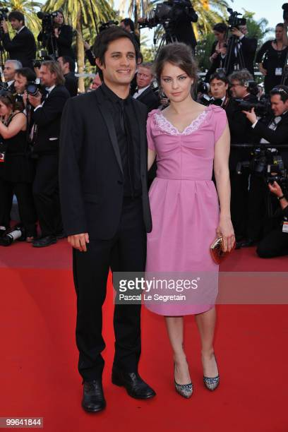 Canera D'Or Gael Garcia Bernal and Dolores Fonzi attend the 'Biutiful' Premiere at the Palais des Festivals during the 63rd Annual Cannes Film...