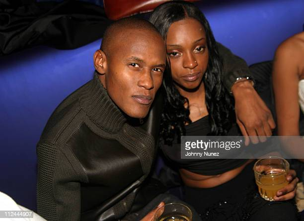 Canibus and Trini during Wyclef Jean Birthday Party at Quo in New York City New York United States