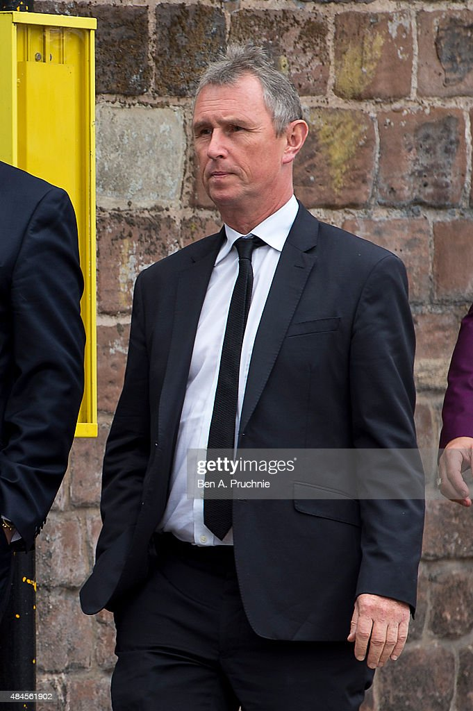 Ca<a gi-track='captionPersonalityLinkClicked' href=/galleries/search?phrase=Nigel+Evans&family=editorial&specificpeople=2486752 ng-click='$event.stopPropagation()'>Nigel Evans</a> arrives at the funeral of Cilla Black on August 20, 2015 in Liverpool, England. Singer and TV host Cilla Black died on the 1st August at her home in Spain after a head injury caused by a fall. She is best known for a number of hits in the 1960's and went on to be one of TV's highest earning stars with shows including Blind Date and Surprise Surprise regularly being watched by millions of viewers.