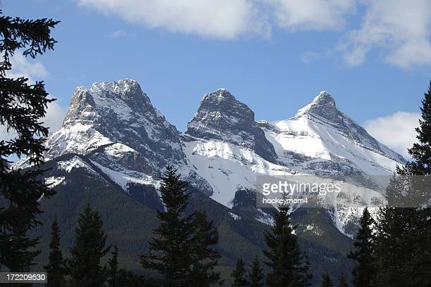 Canmore's Three Sisters
