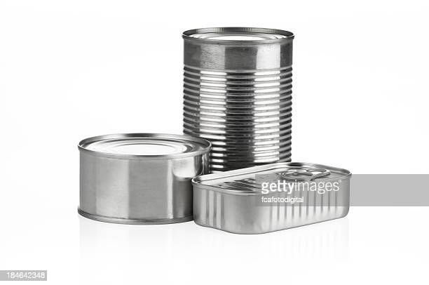 Canned Food with Clipping Path