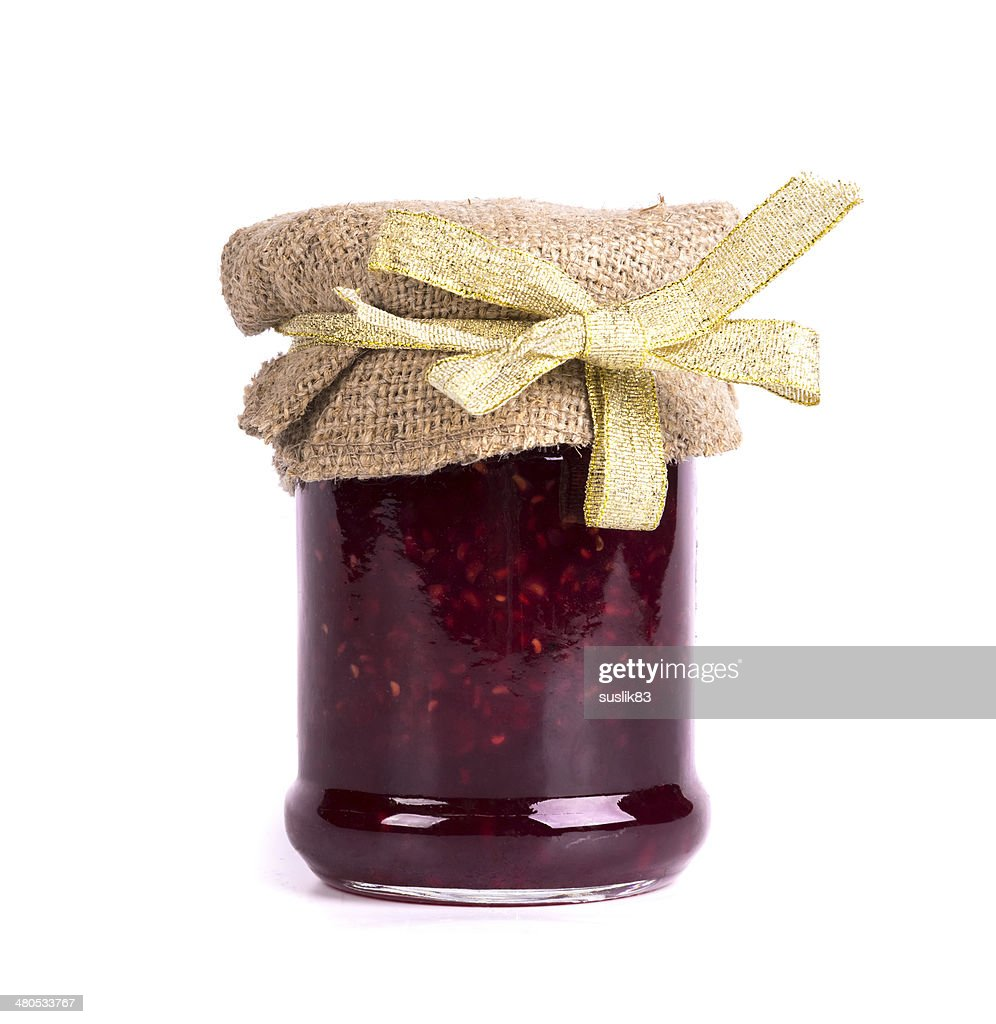 canned jam : Stock-Foto