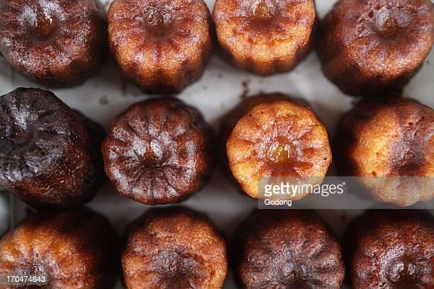 Canneles cakes sold in Saint Emilion Saint Emilion France