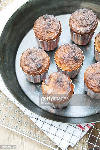 Cannelés (vanilla and rum cakes, France)