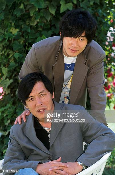 Cannes 2000 Meeting Lee Chang DongSol Kyoung Gun In Cannes France On May 14 2000