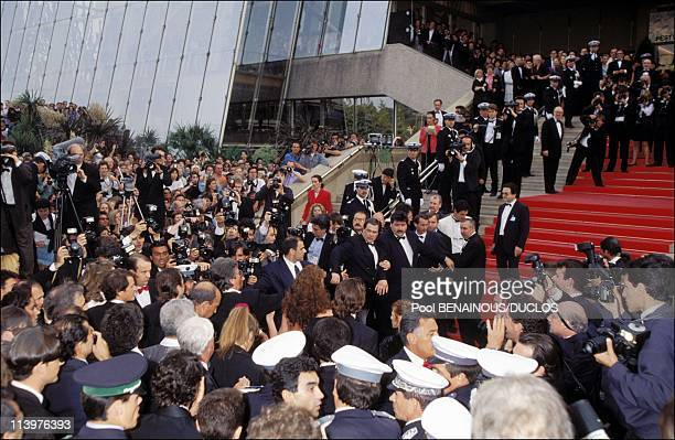 Cannes 92 Ambiance During festival in Cannes France on May 09 1992