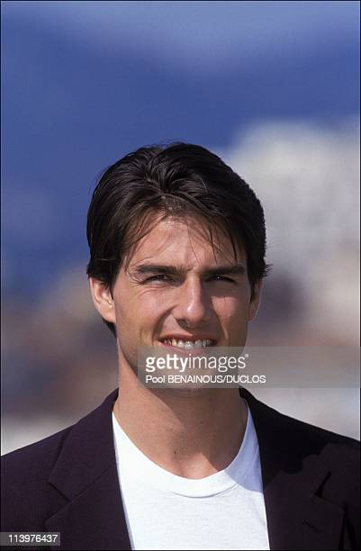Cannes 92 Tom Cruise Nicole Kidman In Cannes France On May 17 1992Tom Cruise