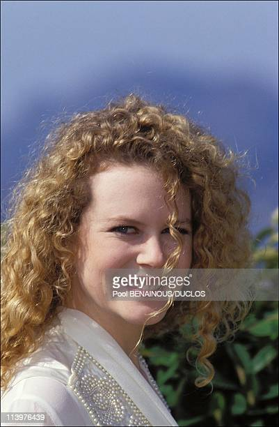 Cannes 92 Tom Cruise Nicole Kidman In Cannes France On May 17 1992Nicole Kidman