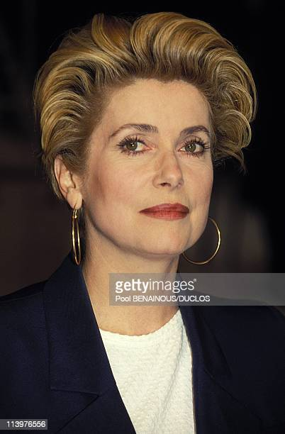 Cannes 94CDeneuve CEastwood FMajor In Cannes France On May 16 1994