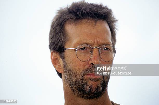 Cannes 96 Photo Call 'The Van' In Cannes France On May 12 1996Eric Clapton