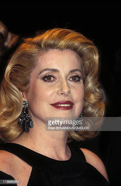Cannes 96 Strairs Of Film 'Les Voleurs' In Cannes France On May 1996Catherine Deneuve