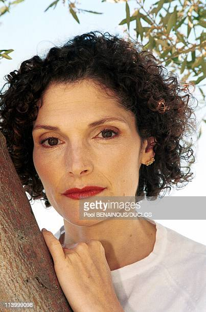 Cannes 99 Meeting With 'Limbo' W/ MEMastrantonio And John Sayles In Cannes France On May 21 1999