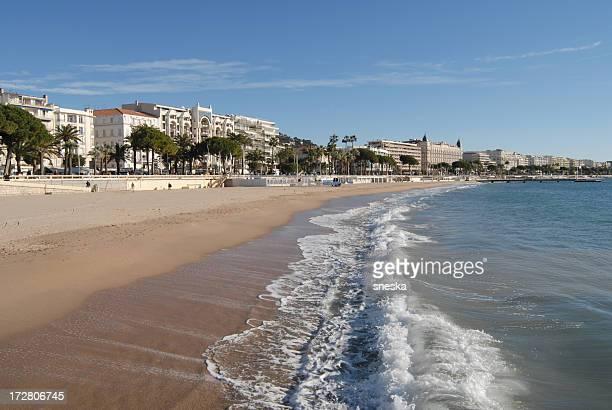 Plage à Cannes, France