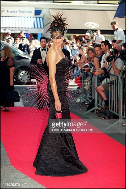 Cannes film festival guests of AMFAR gala at the projection of 'Love's Labours Lost' In Cannes France On May 18 2000
