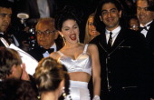 Cannes Film Festival in Cannes France in May 1991 Singer Madonna arrival's for a movie 'in bed with Madonna' wearing JeanPaul Gaultier
