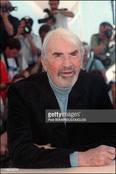 Cannes Film Festival Photo Call 'Conversation With Gregory Peck' In Cannes France On May 16 2000Gregory Peck