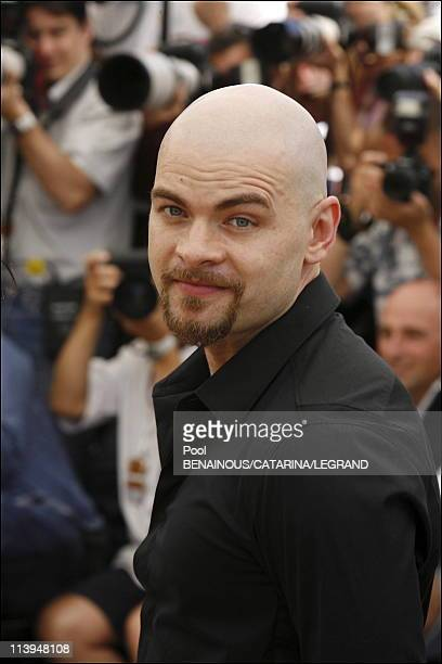 Cannes Film Festival Photo call of 'Over the Hedge' in Cannes France on May 21 2006Clovis Cornillac