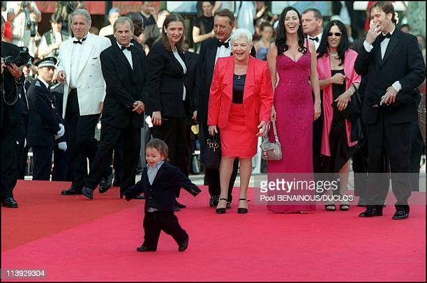Cannes Film Festival Stairs Of 'Conversation With Gregory Peck' In Cannes France On May 16 2000Harper grandson of Gregory Peck
