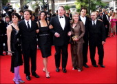 Cannes Film Festival Stairs of 'Selon Charlie' in Cannes France On May 20 2006Cast of 'An Inconvenient Truth' producor Leslie Chilcott director Davis...