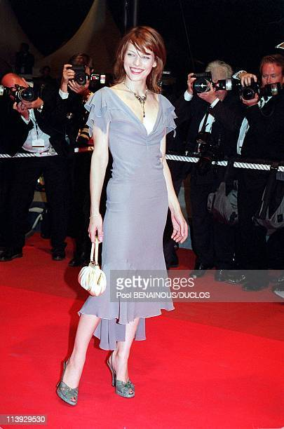 Cannes film festival stairs of 'The Yards' In Cannes France On May 20 2000Milla Jovovich