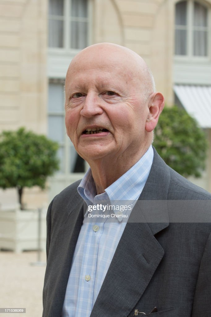 Cannes Flim Festival President Gilles Jacob Attend Lunch At Elysee Palace at Elysee Palace on June 26, 2013 in Paris, France.