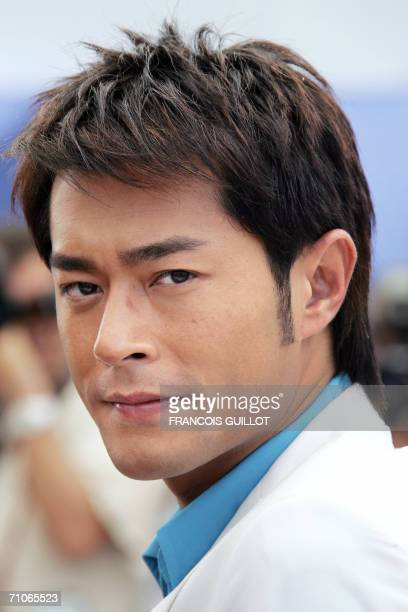 Chinese actor Louis Koo poses during a photocall for Chinese director Johnnie To's film 'Election 2' at the 59th edition of the International Cannes...