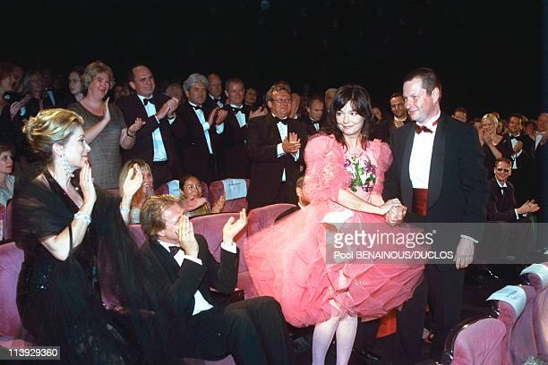 Cannes international film festival after 'dancer in the dark' In Cannes France On May 17 2000Catherine Deneuve Bjork and Lars von Trier