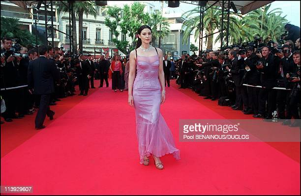 Cannes international film festival stairs of closing ceremony In Cannes France On May 21 2000Monica Bellucci