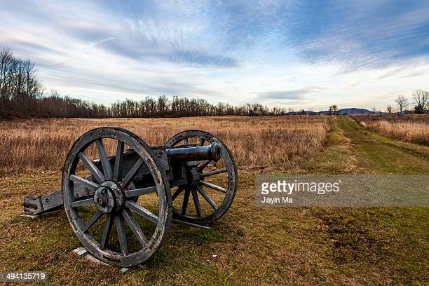 Cannon at Saratoga Battlefield